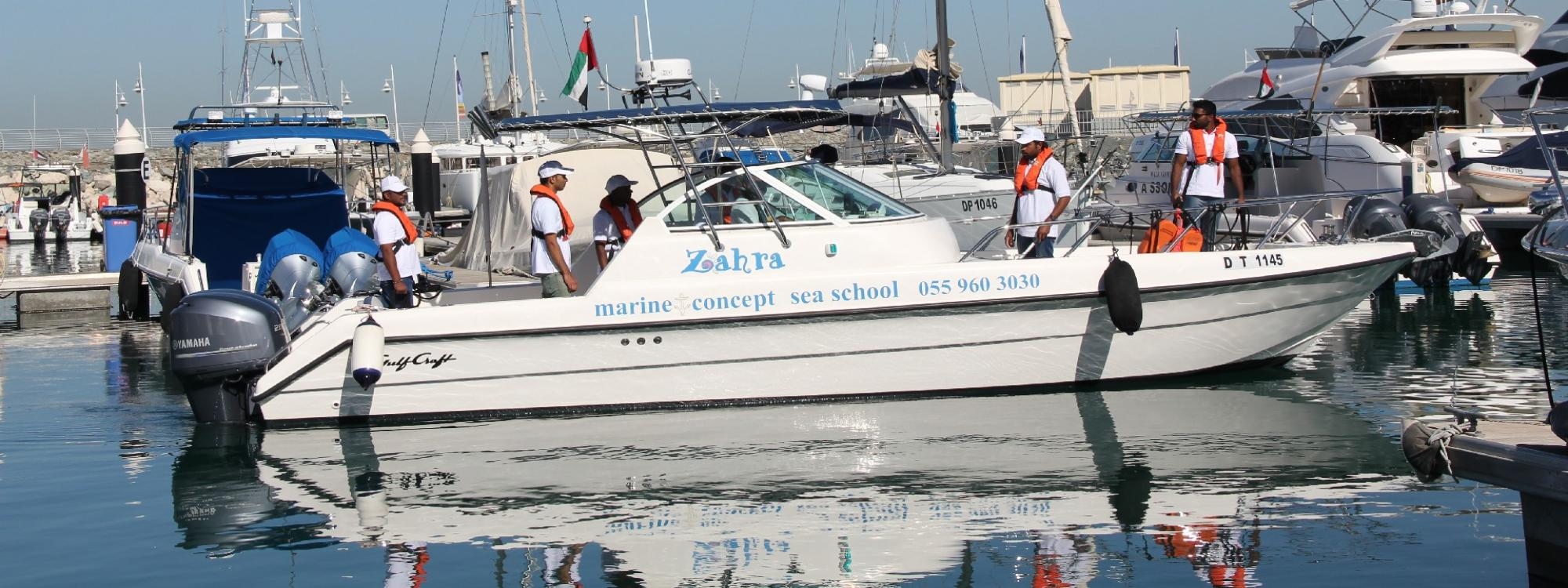 Fta Small Boat Driving Course 12 Meter In U A E Marine